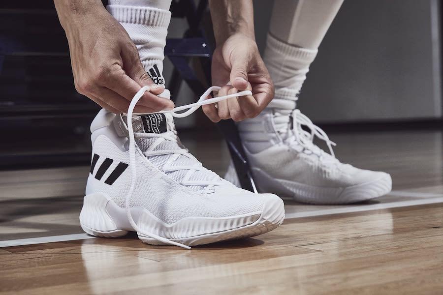 c853c6a17874c SALE - Adidas Pro Bounce High White Black