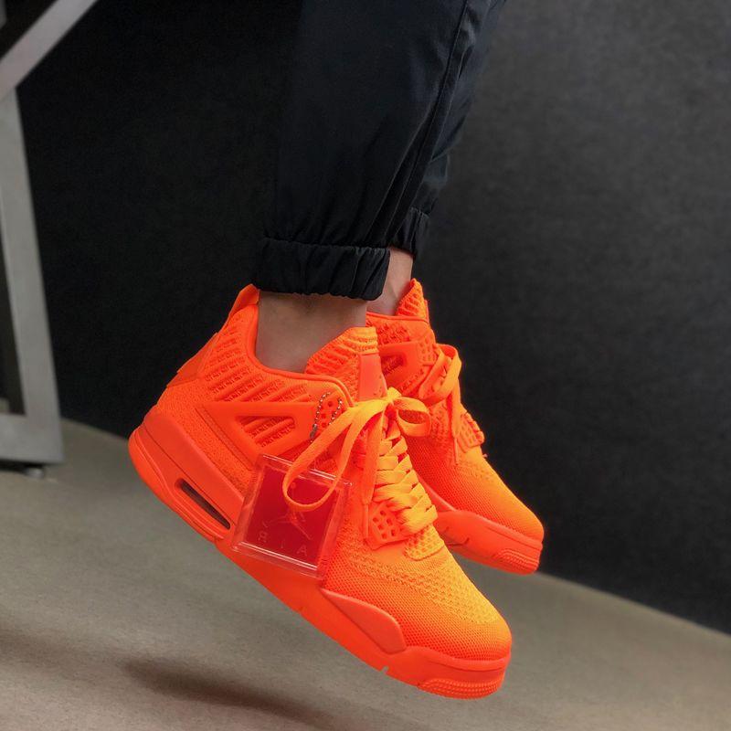 Air Jordan 4 Flyknit 'Total Orange'